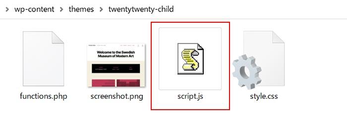 script.jsファイルの準備完了