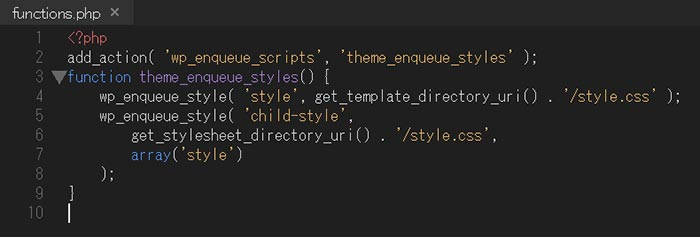 functions.phpのコード内容