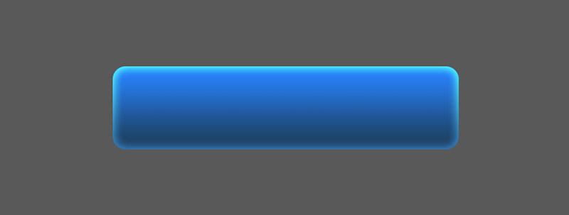 ボタンのベースに光彩を入れる
